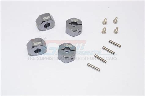 Tamiya 53907 Connector 5 X 8mm Hex 1 rcjaz uk traxxas 4wd gt4 tec 2 0 aluminum hex adapters