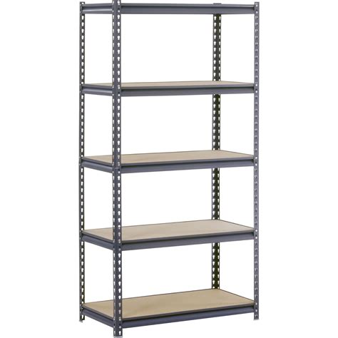 edsal 5 shelf heavy duty steel shelving