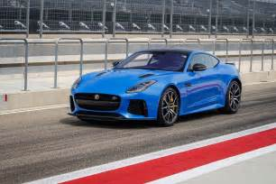 Jaguar F Type Coupe Ride Along At 174 Mph In The 2017 Jaguar F Type Svr Coupe