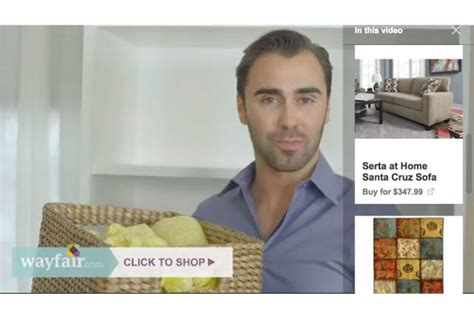 Where Can I Buy A Wayfair Gift Card - youtube adds click to shop button to trueview ads digital adage