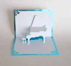 Grand Piano Pop Up Card Free Template by Cards Pop Up Cards On Pop Up Cards Pop Up