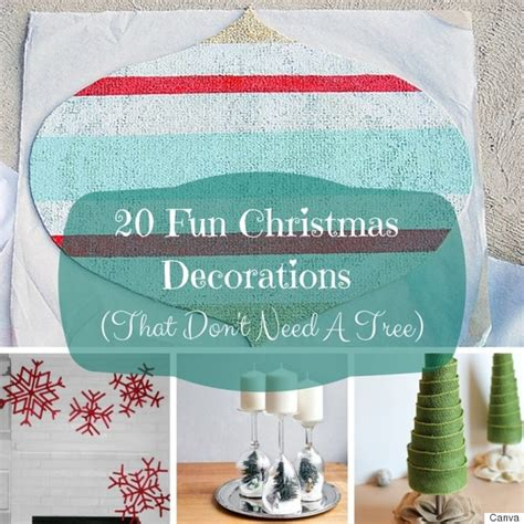 20 christmas decorating ideas you can create without a tree