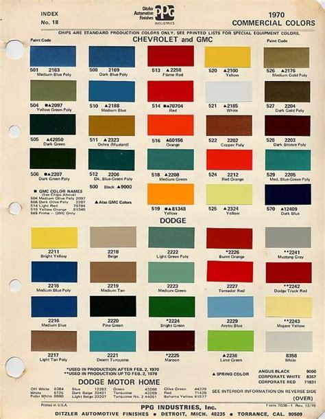 truck paint colors paint code the 1947 present chevrolet gmc truck