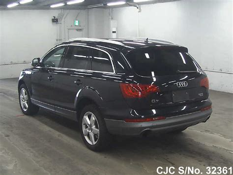Audi Q7 For Sale by 2010 Audi Q7 Black For Sale Stock No 32361 Japanese