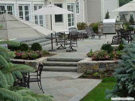 raised concrete patio design ideas raised patio with