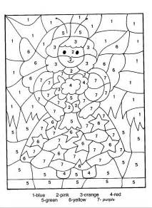 number coloring pages only coloring pages