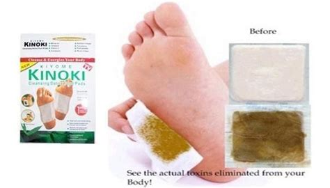 Kinoki Foot Detox Patches Ingredients by Kinoki Herbal Detox Foot Pads 10 Detoxificating Cleansing