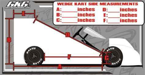 go kart template adrenaline wedge side grafix