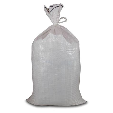 hercules poly woven sand bag with tie 100 count