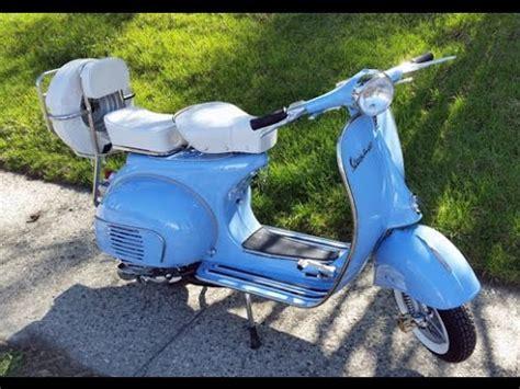 vespabag vbb light green 1965 vespa standard vbb in light blue