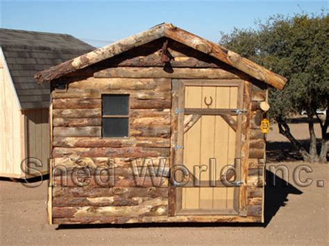 Shed Log Cabin by Rustic Shed Gallery