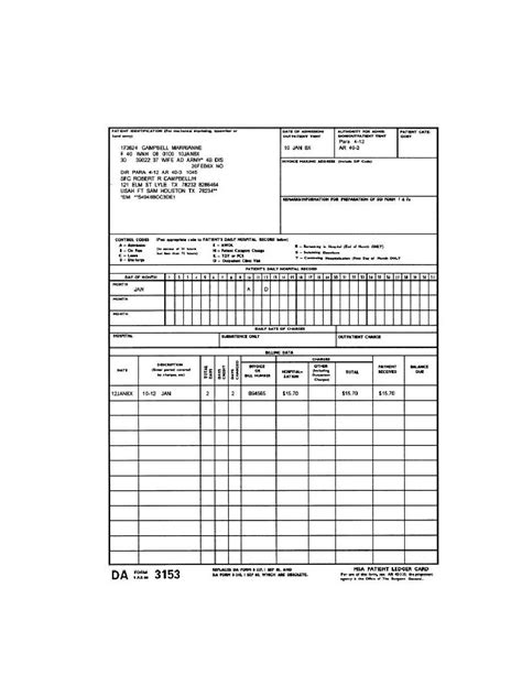 patient ledger card template ledger card template 28 images excel ledger templates