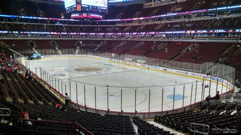 Section 119 United Center by United Center Section 119 Chicago Blackhawks Rateyourseats