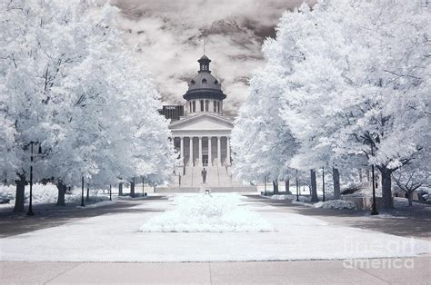 Landscaper Columbia Sc Columbia South Carolina Infrared Landscape Photograph By