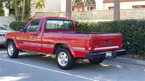 1991 jeep comanche eliminator 1991 jeep comanche eliminator for sale photos technical