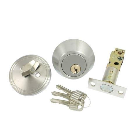 door deadbolt home door locking security single cylinder deadbolt lock