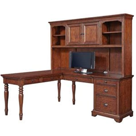 T Shaped Desk With Hutch Aspenhome Villager Curve L Desk With 1 Drawer And 4 Ac Outlets Walker S Furniture L Shape