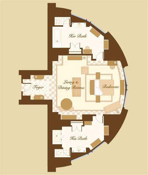 bellagio hotel room layout las vegas suite bellagio cypress suite floorplan i