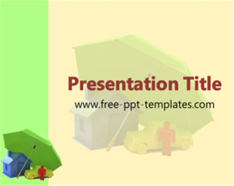 Insurance Ppt Template Free Powerpoint Templates Insurance Ppt Templates Free