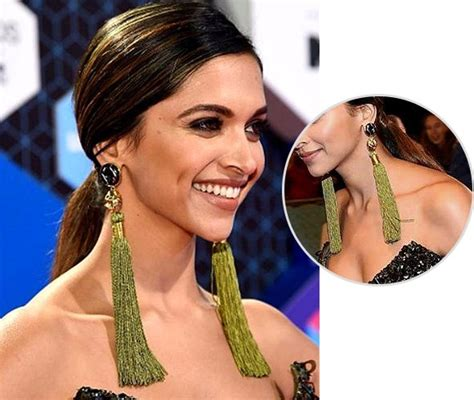 deepika padukone earrings 15 bollywood inspired earrings to wear for your best
