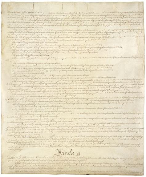 sections of constitution the constitution of the united states of america the