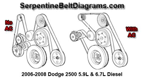 2007 dodge caliber serpentine belt diagram 2006 bmw 330i ac pulley autos post