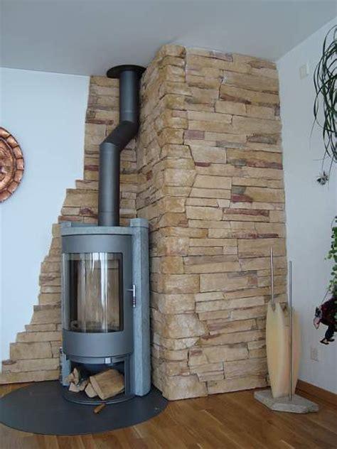 Ofen Für Wohnzimmer 2208 by Kamin Mit Steinwand