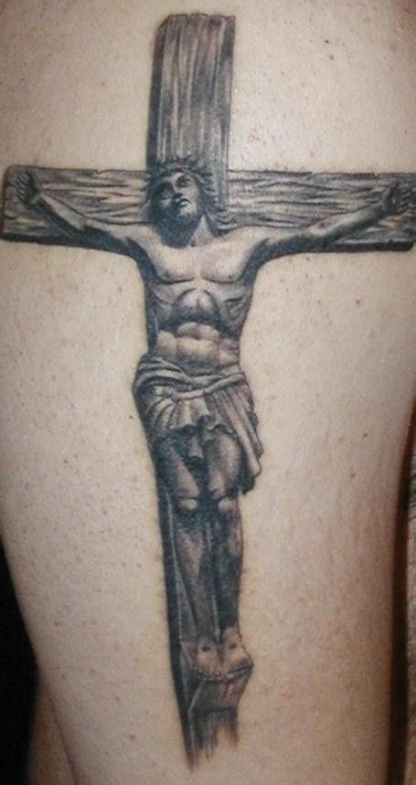 christ on the cross tattoo crucifix