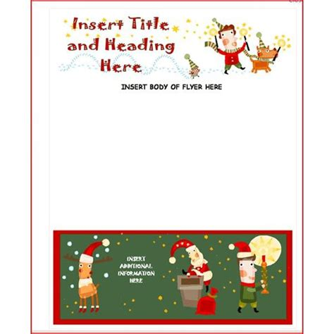 Free Online Christmas Flyer Templates