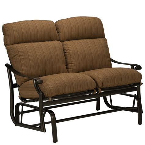 patio gliders with cushions 720216 montreux cushion glider 2475 large georgetown