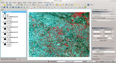 tutorial qgis 2 0 español from gis to remote sensing land cover classification of