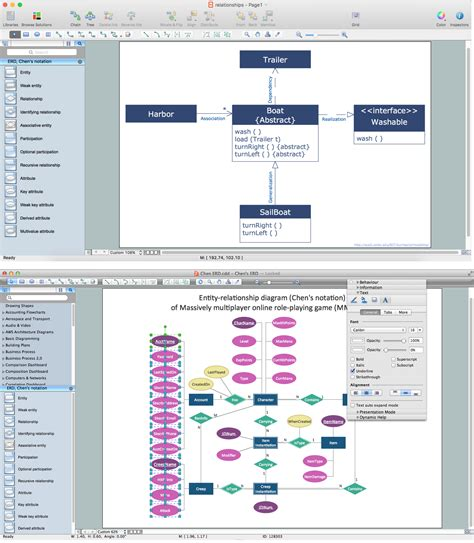 erd diagram software entity relationship diagram software for mac entity