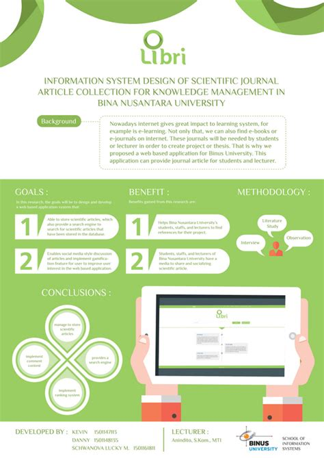 design scientific journal information system design of scientific journal article