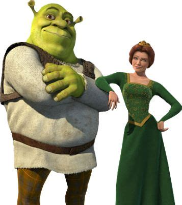 free shrek painting fiona and shrek shrek