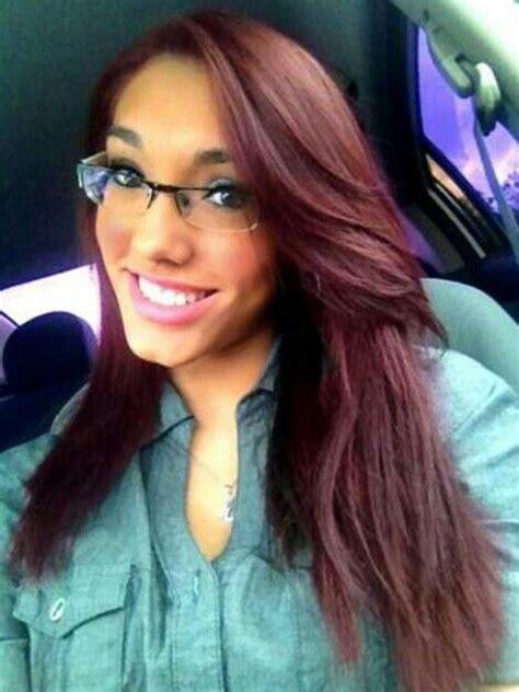 medium burgundy brown hair color images medium burgundy hair hair pinterest