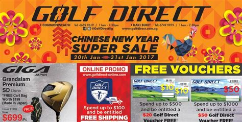 new year sale in singapore golf direct singapore new year sale