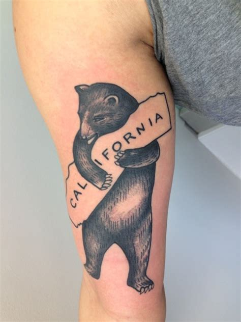 california bear tattoo designs tattoos and designs page 105