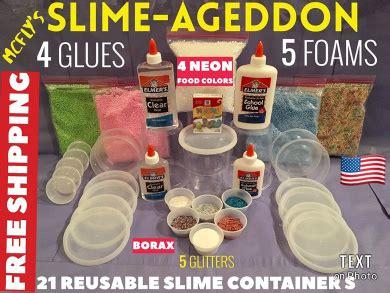 slime kit slimeageddon slime kit elmers clear glue