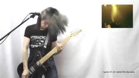tutorial guitar buried alive the used buried myself alive guitar youtube