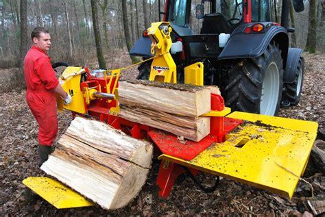 Fendeuse A Bois Hydraulique Sur Prise De Force