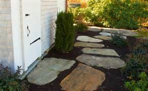 flat rock patio blocks modern patio outdoor