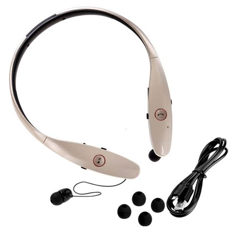 Headset Bluetooth Lg Hbs 900 neckband sport wireless bluetooth headset for iphone samsung lg tone infinim hbs 900