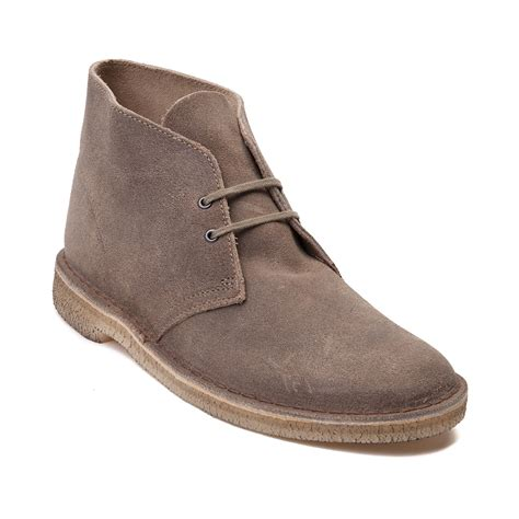 clarks desert boots mens mens clarks originals desert boot light brown 26110054