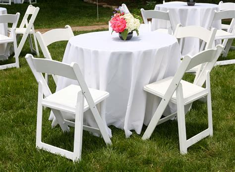 Rent Table And Chairs A G Tent Rentals Table And Chair Rentals