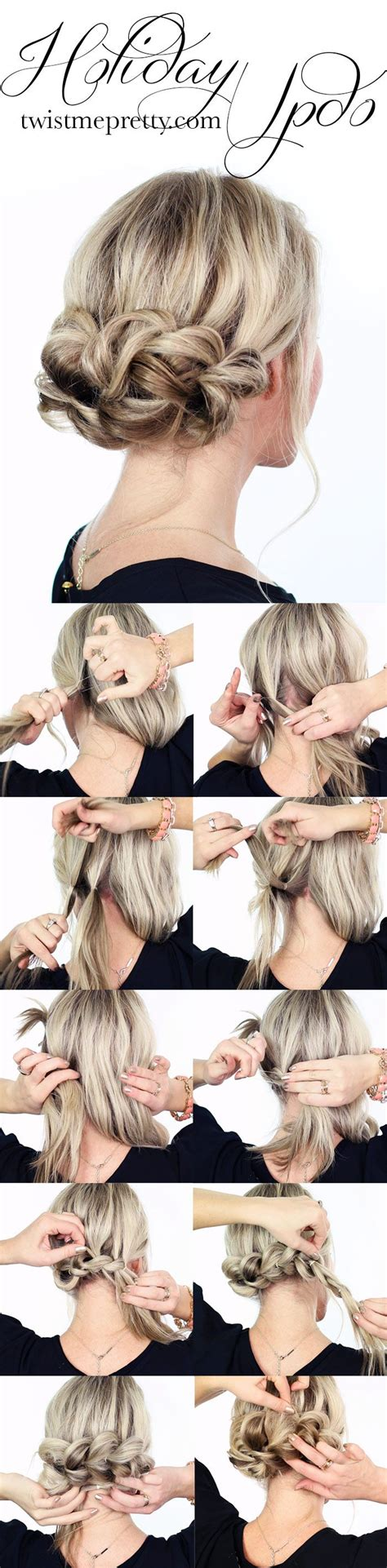15 braided updo hairstyles tutorials 15 easy hairstyles for lazy with tutorials