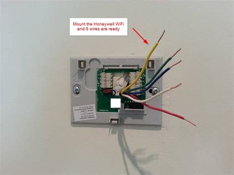 DIY installation ? Honeywell WiFi Thermostat RTH9580WF and HE280 Humidifier ? Diyable.com
