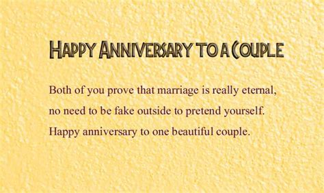 Happy Wedding Anniversary Wishes to a Couple   Wishes4Lover