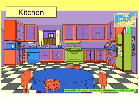 Simpsons Dining Room by Simpsons Home V1