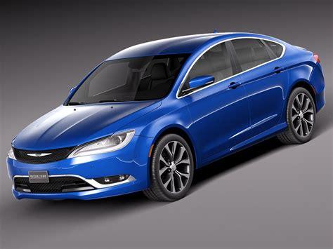 Chrysler 2015 Models by Chrysler 200 2015 3d Model Max Obj 3ds Fbx C4d Lwo Lw Lws