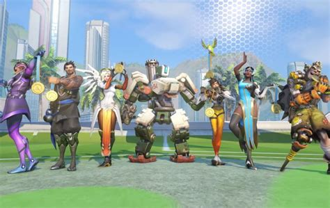 Gamis Summer overwatch summer is live the new legendary skins
